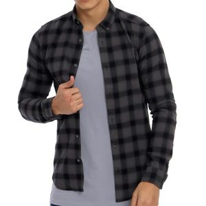 Only & Sons | Gustuav Checked Shirt Grey and Black